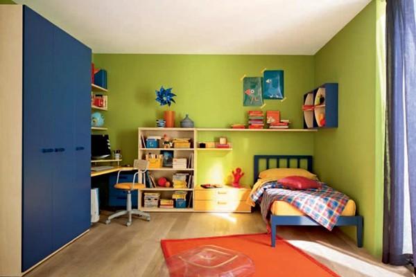 een voorbeeld van een kinderkamer interieur